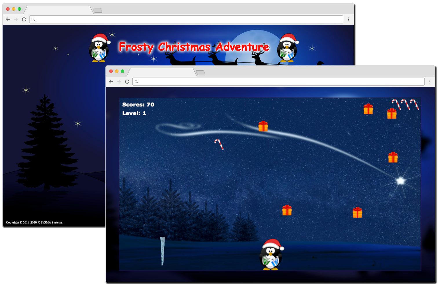 Frosty Christmas Adventure Icon